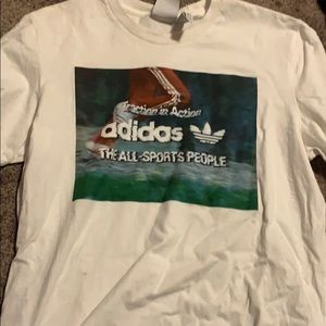 Adidas 'traction in action' tee